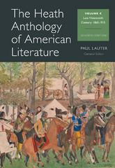 The Heath Anthology of American Literature 7th edition 9781133310242 1133310249