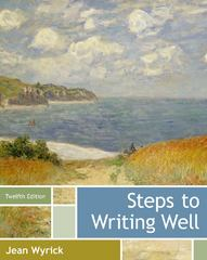 Steps to Writing Well 12th edition 9781133311317 1133311318