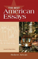 The Best American Essays, College Edition 7th Edition 9781133310341 1133310346