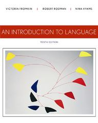 An Introduction to Language 10th edition 9781133310686 1133310680