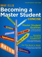 Becoming a Master Student 14th Edition 9781133311584 113331158X