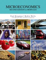 Microeconomics in Modules 2nd Edition 9781429287302 1429287306