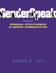 GenderSpeak 5th Edition 9780205825479 0205825478