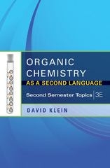 Organic Chemistry As a Second Language 3rd Edition 9781118144343 1118144341