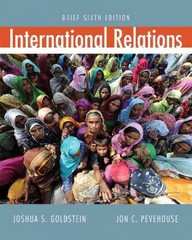 International Relations, Brief 6th edition 9780205059584 0205059589