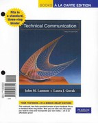 Technical Communication, Books a la Carte Plus MyTechCommLab -- Access Card Package 12th edition 9780205060405 0205060404