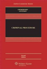 Criminal Procedure 2nd Edition 9781454806943 145480694X