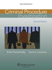 Criminal Procedure 2nd Edition 9781454807131 145480713X