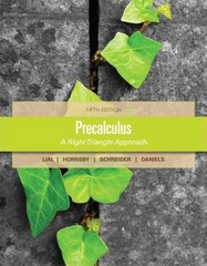 Precalculus 5th Edition 9780321783806 0321783808