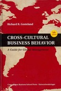 Cross-Cultural Business Behavior 5th Edition 9788763002387 8763002388