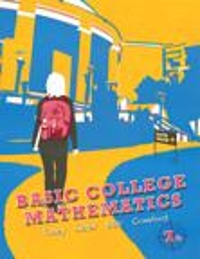 Student Solutions Manual for Basic College Mathematics 7th edition 9780321765710 0321765710