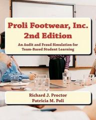 Proli Footwear, Inc. 1st Edition 9780615455495 0615455492