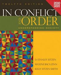 In Conflict and Order 12th edition 9780205179695 020517969X