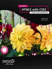 Foundation HTML5 with CSS3 1st Edition 9781430238768 1430238763