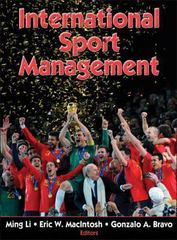 International Sport Management 1st Edition 9780736082730 0736082735
