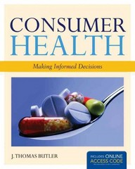 Consumer Health 1st Edition 9781449646455 144964645X