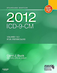 2012 ICD-9-CM for Physicians, Volumes 1 and 2, Standard Edition (Softbound) 1st edition 9781455707126 1455707120