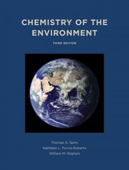 Chemistry of the Environment 3rd Edition 9781891389702 189138970X