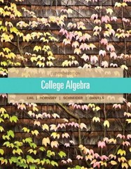 College Algebra 11th edition 9780321849151 0321849159