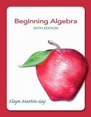 Beginning Algebra 6th edition 9780321784919 032178491X