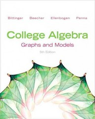College Algebra 5th edition 9780321783950 0321783956