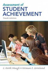 Assessment of Student Achievement 10th Edition 9780132689632 0132689634