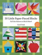50 Little Paper- Pieced Blocks 0 9781607055310 1607055317
