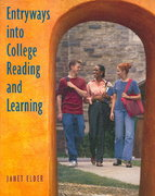 Entryways into College Reading and Learning 1st edition 9780073123585 0073123587