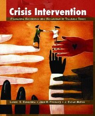 Crisis Intervention 1st Edition 9780130908971 0130908975