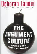 The Argument Culture 1st Edition 9780679456025 0679456023