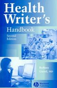 Health Writer's Handbook 2nd edition 9780813812533 0813812534