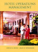Hotel Operations Management 1st edition 9780130995988 0130995983