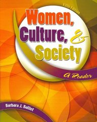 Women, Culture, and Society 5th edition 9780757542435 0757542433