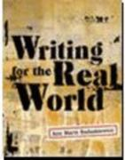 Writing for the Real World 1st edition 9780618047970 0618047972