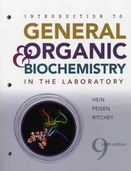 Introduction to General, Organic, and Biochemistry in the Laboratory 9th edition 9780470239650 0470239654