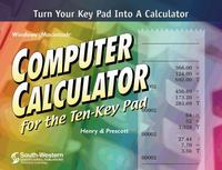 Computer Calculator for the Ten-Key Pad (with CD-ROM) 2nd edition 9780538695442 0538695447