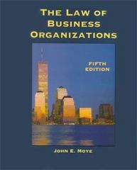 The Law of Business Organizations 5th edition 9780314128065 0314128069