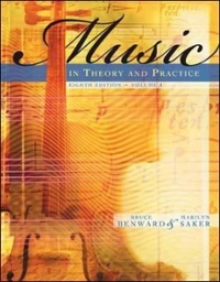 Music in Theory and Practice 8th Edition 9780073101873 0073101877