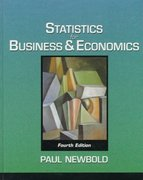 Statistics for Business and Economics 4th edition 9780131815957 0131815954