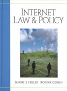 Internet Law and Policy 0 9780130334282 0130334286