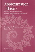 Approximation Theory 1st edition 9780817641511 0817641513