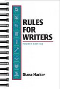 Rules for Writers 4th edition 9780312241421 0312241429