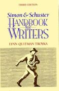 Simon and Schuster Handbook for Writers 3rd edition 9780138137670 0138137676