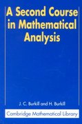 A Second Course in Mathematical Analysis 0 9780521523431 0521523435