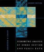 Econometric Analysis of Cross Section and Panel Data 2nd Edition 9780262232586 0262232588
