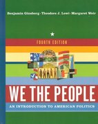 We the People 4th edition 9780393979282 0393979288