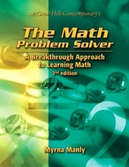 The Math Problem Solver: 2nd Edition, Student Text 2nd Edition 9780072943009 0072943009