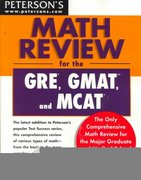 Peterson's Math Review for the GRE, GMAT and MCAT 0 9780768902327 0768902320
