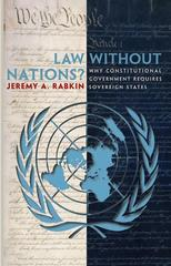 Law without Nations? 0 9780691130552 0691130558