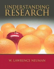 Understanding Research 1st edition 9780205471539 0205471536